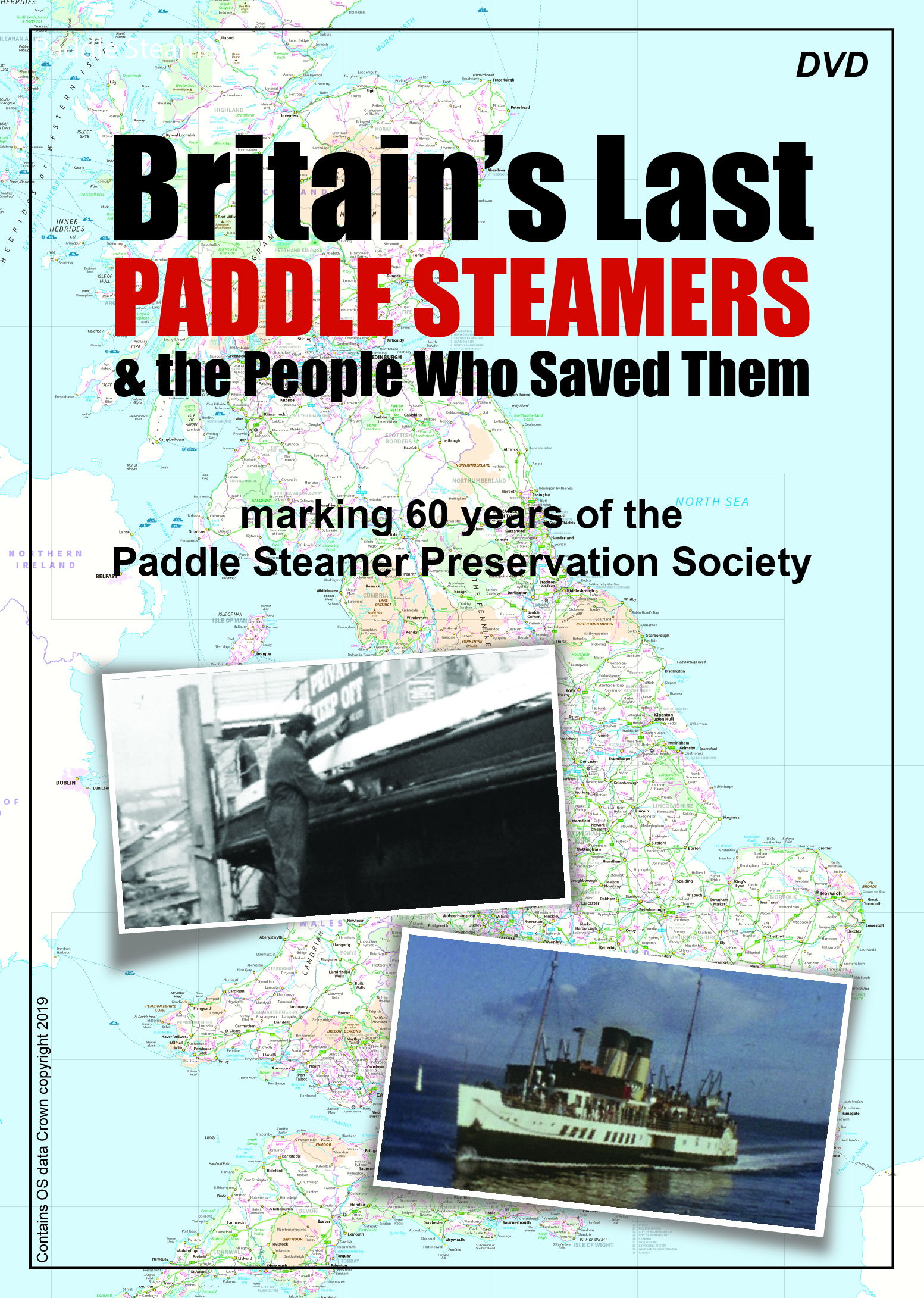 Britain's Last Paddle Steamers - available OnDemand and as a double DVD